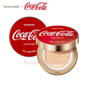 THE FACE SHOP Oil Control Water Cushion 15g [Coca Cola Edition]